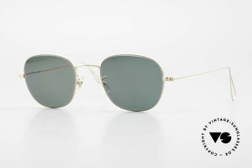 Cutler And Gross 0307 Classic 90s Designer Sunglasses Details