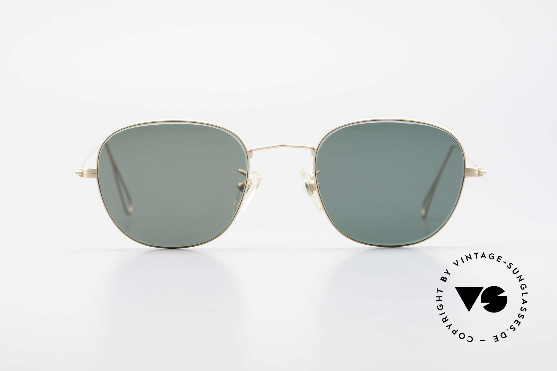 Cutler And Gross 0307 Classic 90s Designer Sunglasses, classic, timeless UNDERSTATEMENT luxury sunglasses, Made for Men and Women