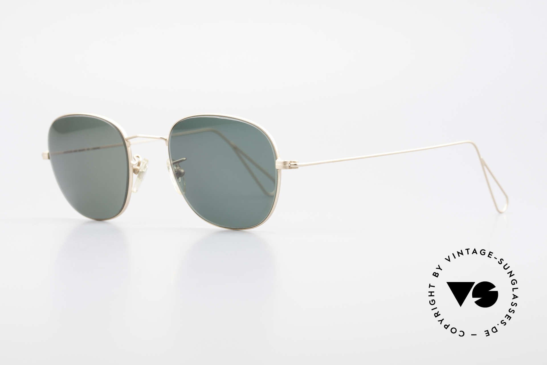 Cutler And Gross 0307 Classic 90s Designer Sunglasses, stylish & distinctive in absence of an ostentatious logo, Made for Men and Women