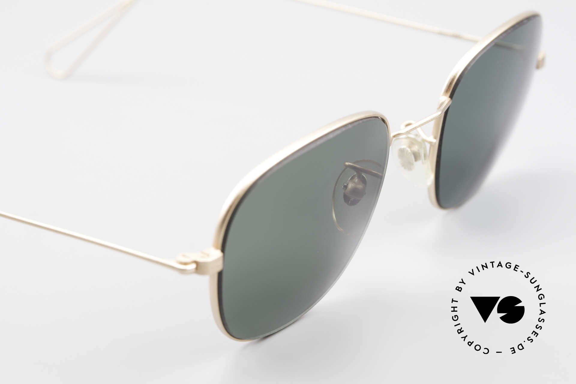 Cutler And Gross 0307 Classic 90s Designer Sunglasses, never worn; like all our vintage Cutler & Gross eyewear, Made for Men and Women