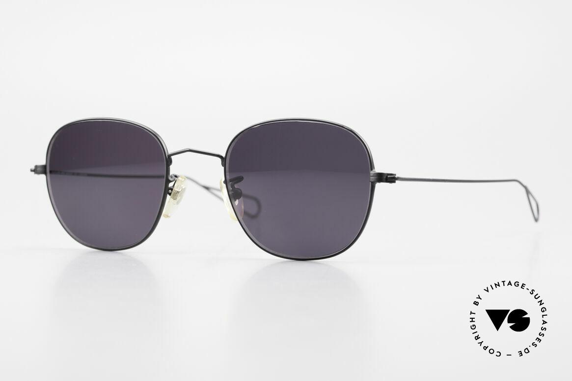 Cutler And Gross 0307 Old Vintage Designer Frame, CUTLER and GROSS designer shades from the late 90's, Made for Men and Women