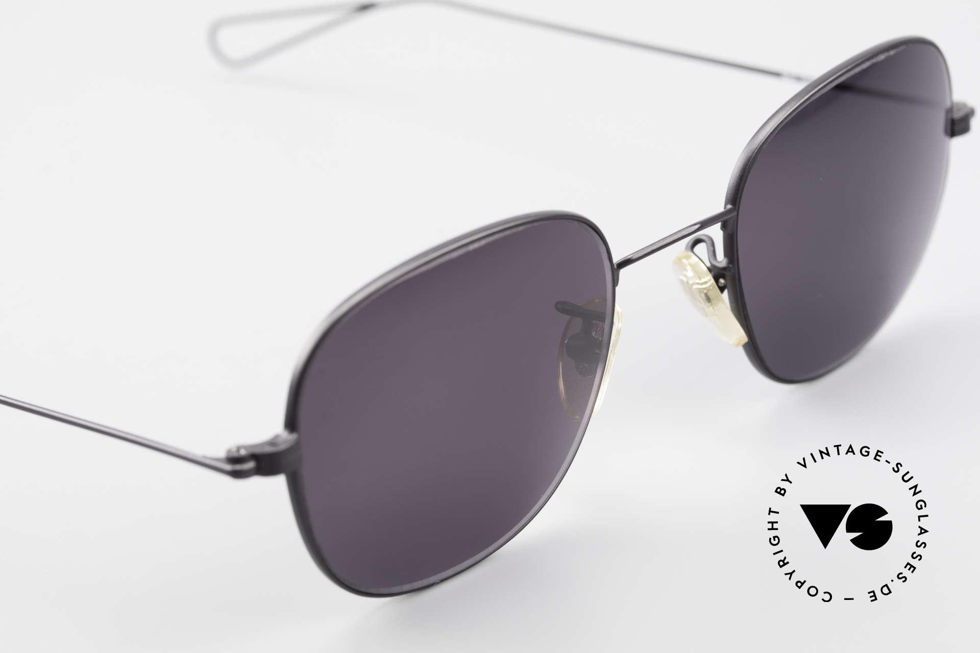 Cutler And Gross 0307 Old Vintage Designer Frame, never worn; like all our vintage Cutler & Gross eyewear, Made for Men and Women