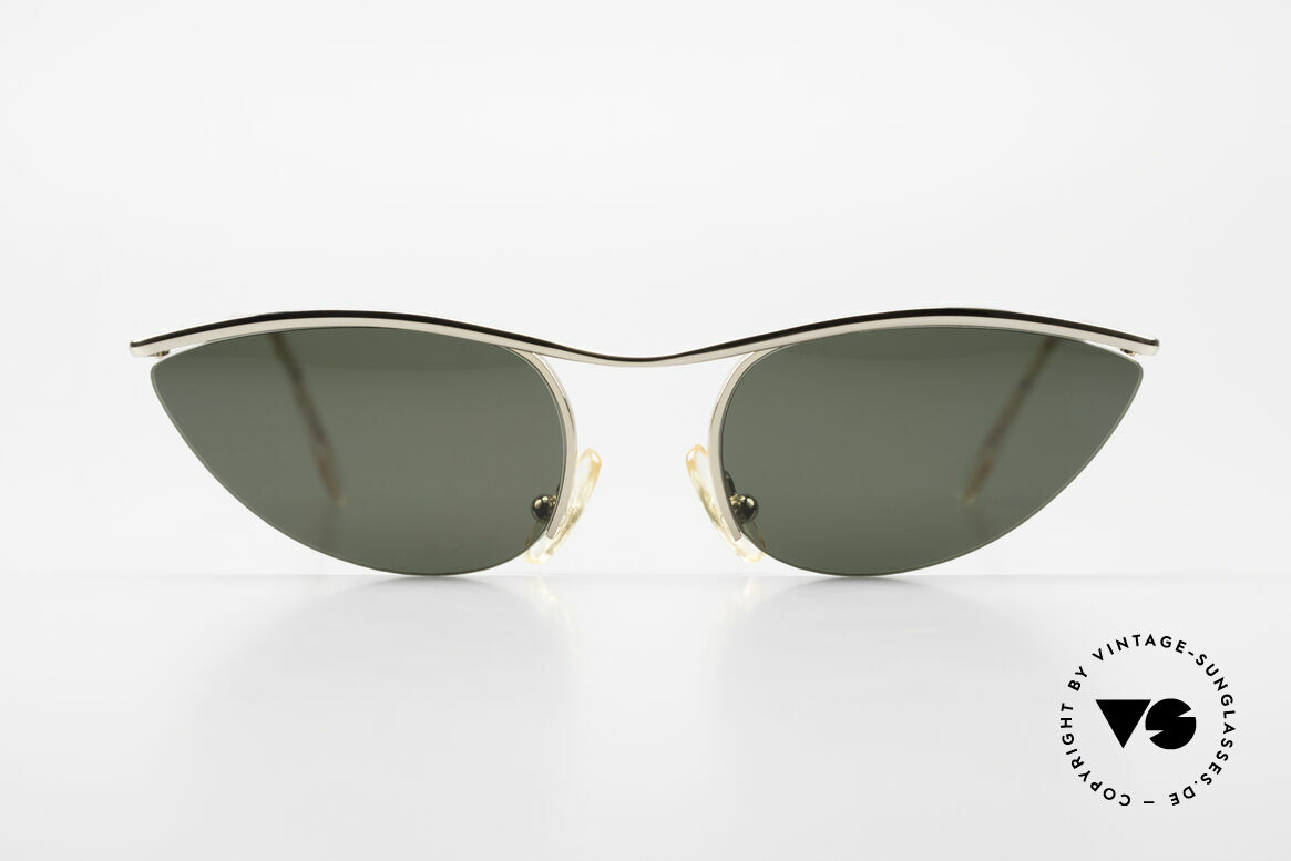 Cutler And Gross 0359 Cat Eye Designer Sunglasses, classic, timeless UNDERSTATEMENT luxury sunglasses, Made for Women
