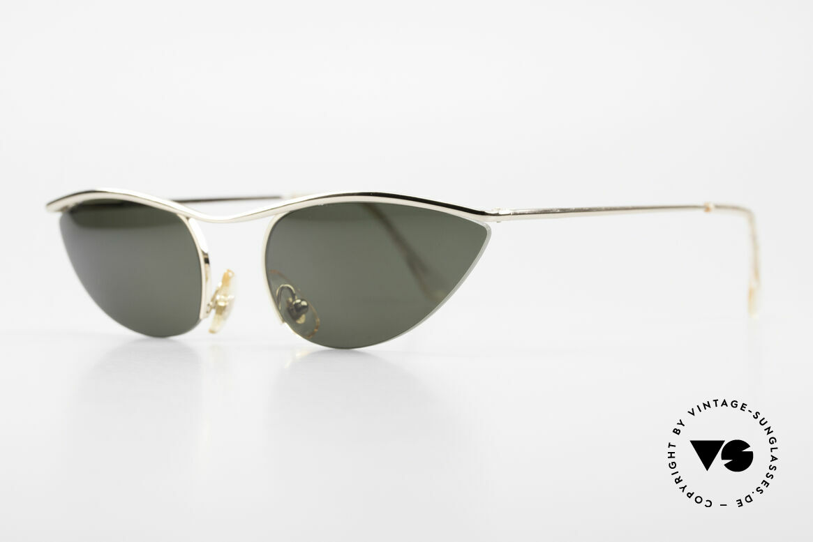 Cutler And Gross 0359 Cat Eye Designer Sunglasses, stylish & distinctive in absence of an ostentatious logo, Made for Women