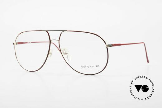 Pierre Cardin 223 80's Men's Aviator Eyeglasses Details