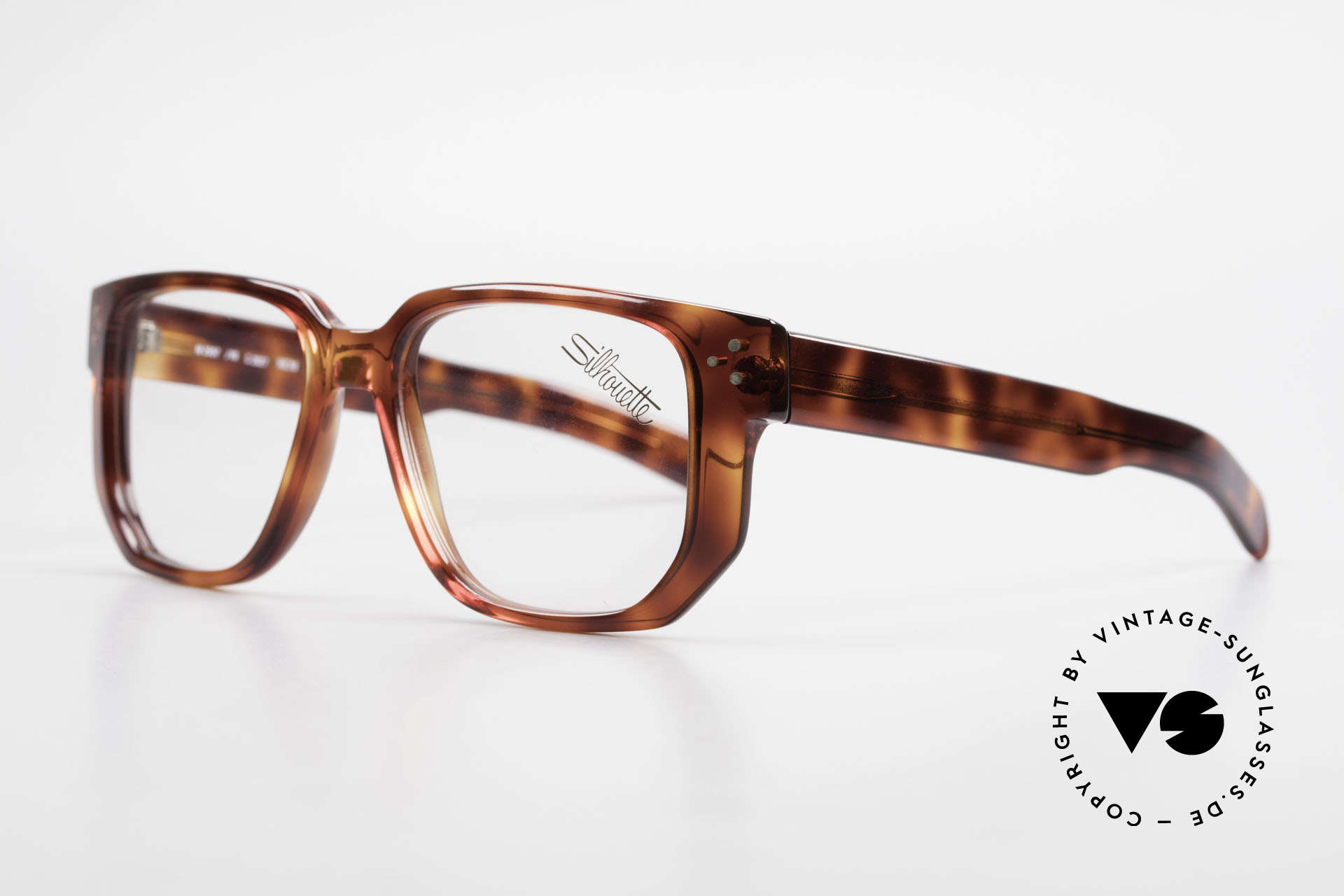 Silhouette M2097 1980's Old School Eyeglasses, a 1980's ORIGINAL (accordingly in TOP quality), Made for Men
