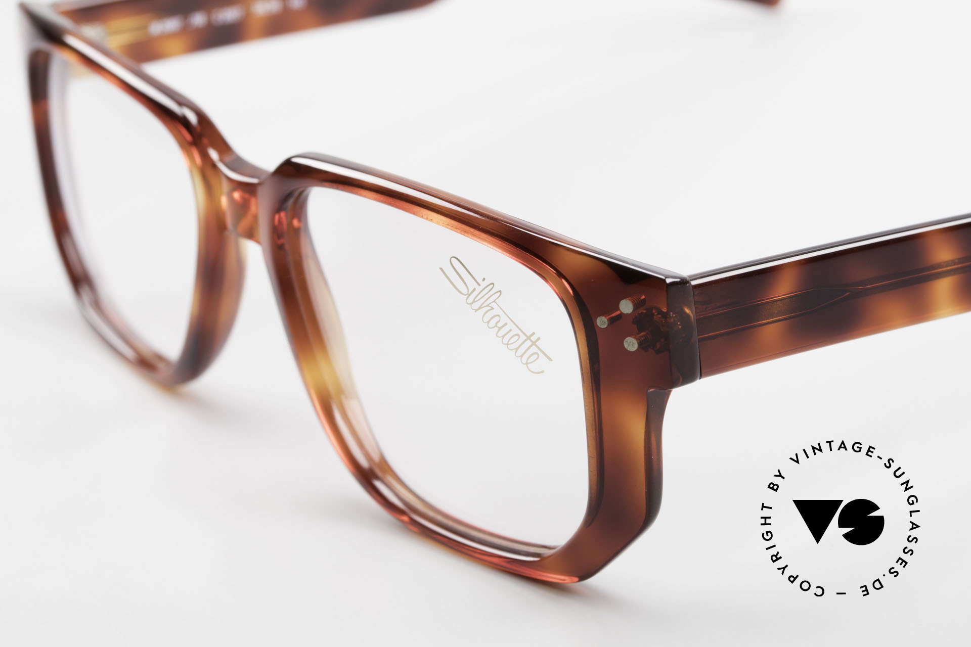 Silhouette M2097 1980's Old School Eyeglasses, built to last (the frame fits lenses of any kind !), Made for Men