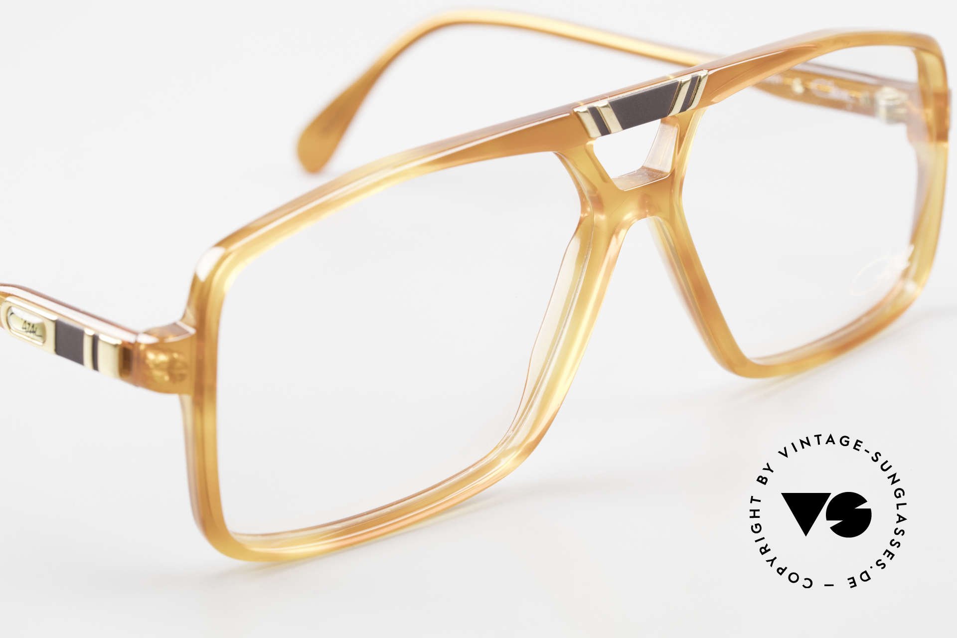Cazal 637 West Germany 1980's Cazal, NO retro specs, but an old masterpiece, size 58/13, Made for Men