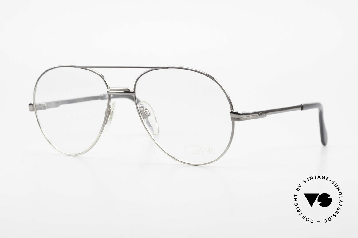 Cazal 708 First 700's West Germany Cazal, ultra rare vintage Cazal eyeglasses from the early 1980's, Made for Men