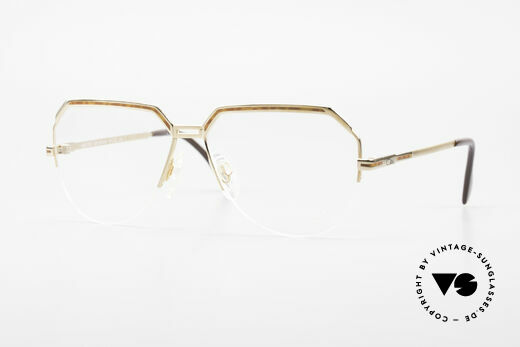 Cazal 732 80's West Germany Eyeglasses Details