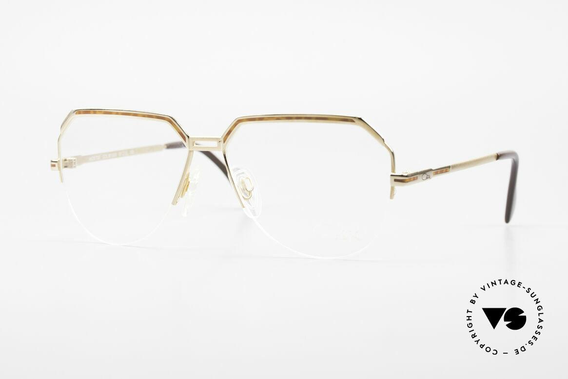 Cazal 732 80's West Germany Eyeglasses, old CAZAL aviator eyeglasses for men from 1987, Made for Men