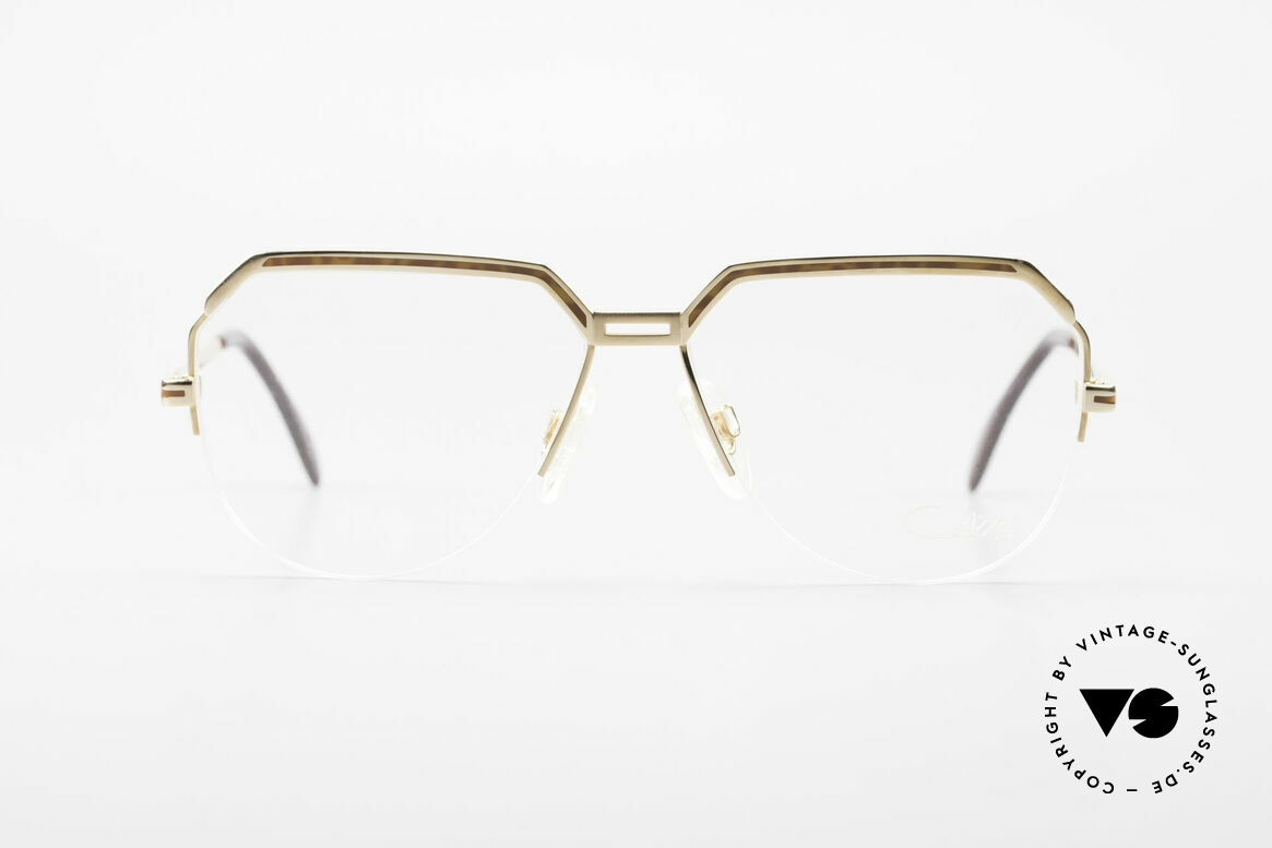 Cazal 732 80's West Germany Eyeglasses, finest quality from Passau, Bavaria, W.Germany, Made for Men
