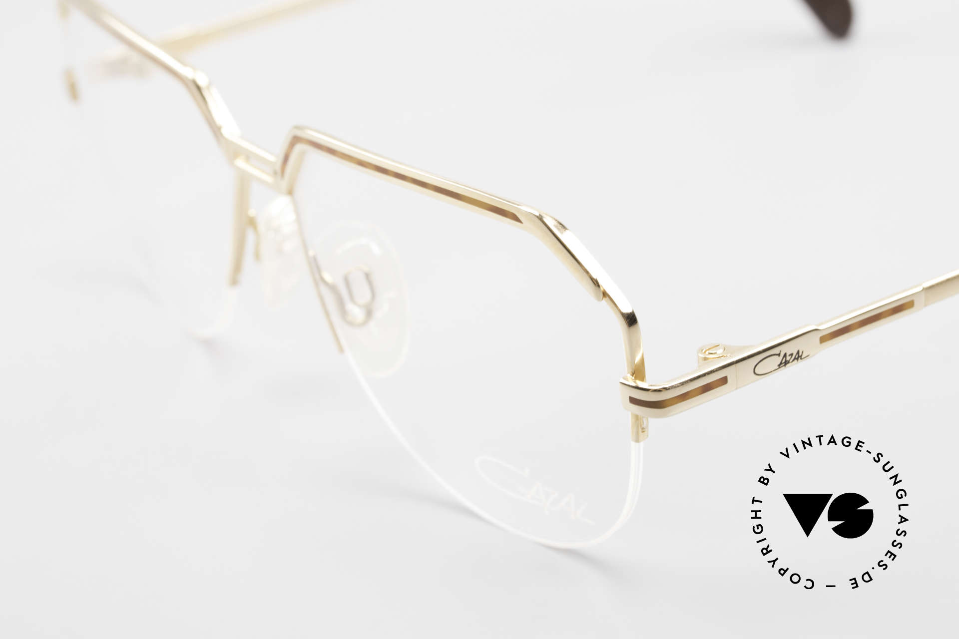 Cazal 732 80's West Germany Eyeglasses, new old stock (like all our vintage Cazal eyewear), Made for Men