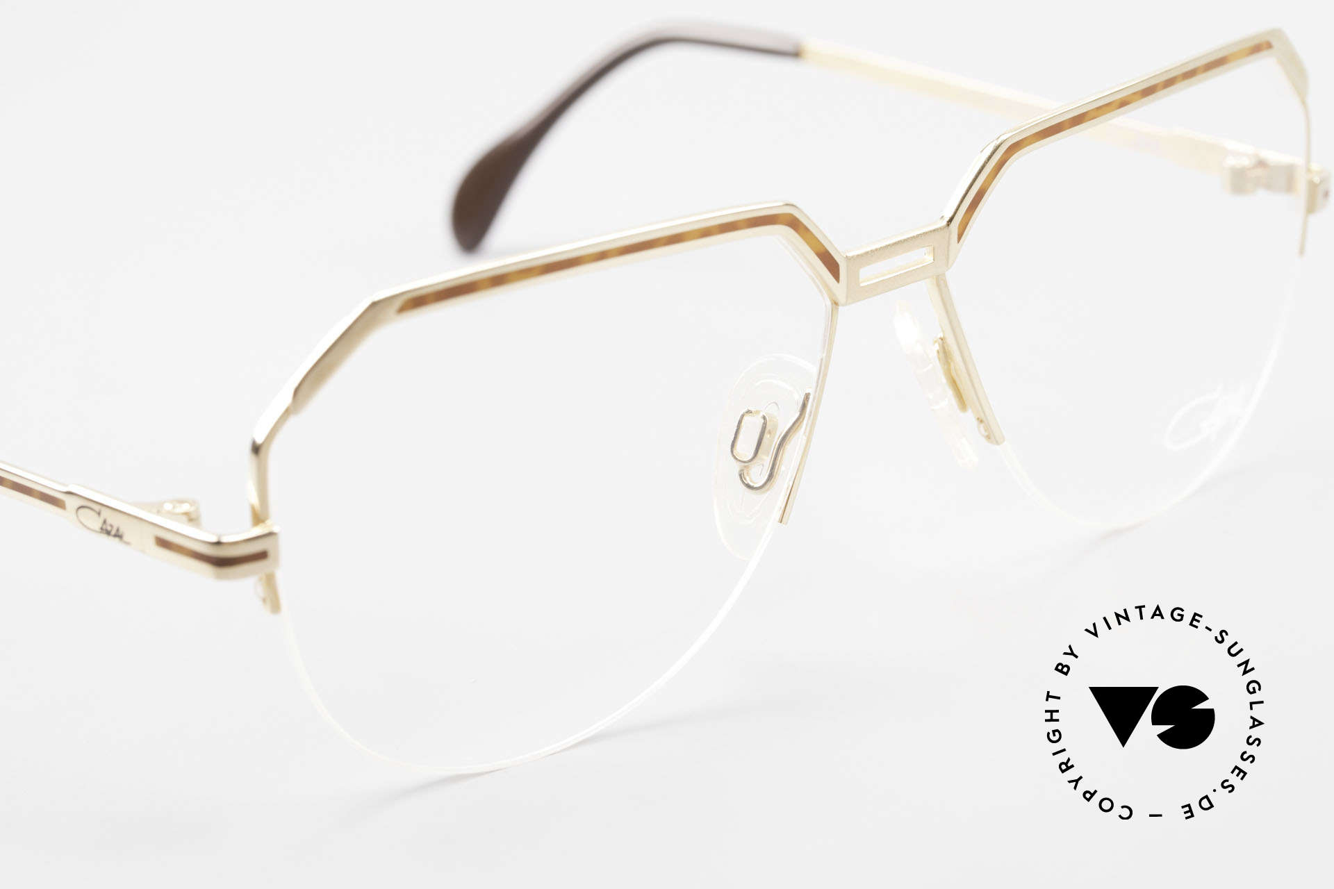 Cazal 732 80's West Germany Eyeglasses, NO retro glasses, but a rare 35 years old original!, Made for Men