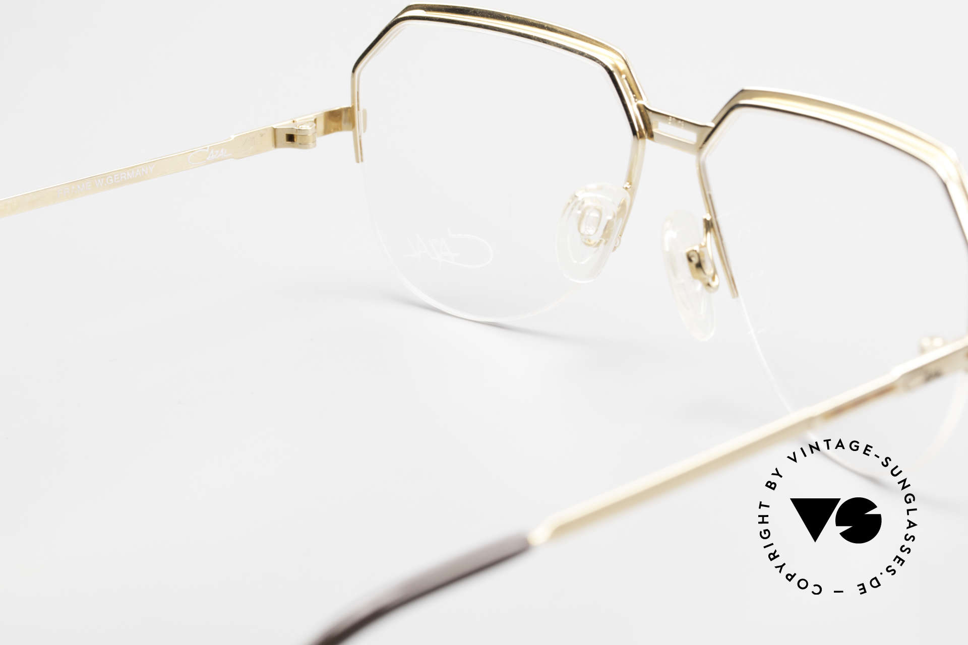 Cazal 732 80's West Germany Eyeglasses, DEMO lenses should be replaced with prescriptions, Made for Men