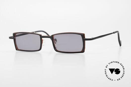 Theo Belgium Tarot Square Designer Sunglasses Details