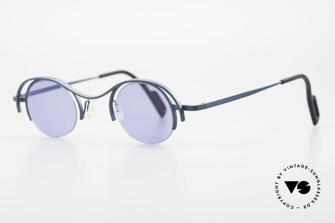 Theo Belgium Summer Round Ladies Designer Shades, made for the avant-garde, individualists, trend-setters, Made for Women