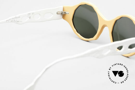 Theo Belgium Eye-Witness BK51 Avant-Garde Vintage Shades, so to speak: vintage sunglasses with representativeness, Made for Men and Women