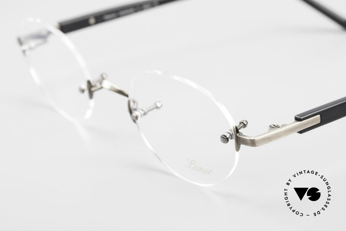 Lunor Classic V Panto AS Panto Rimless Frame Unisex, from the 2015's collection, but in a well-known quality, Made for Men and Women