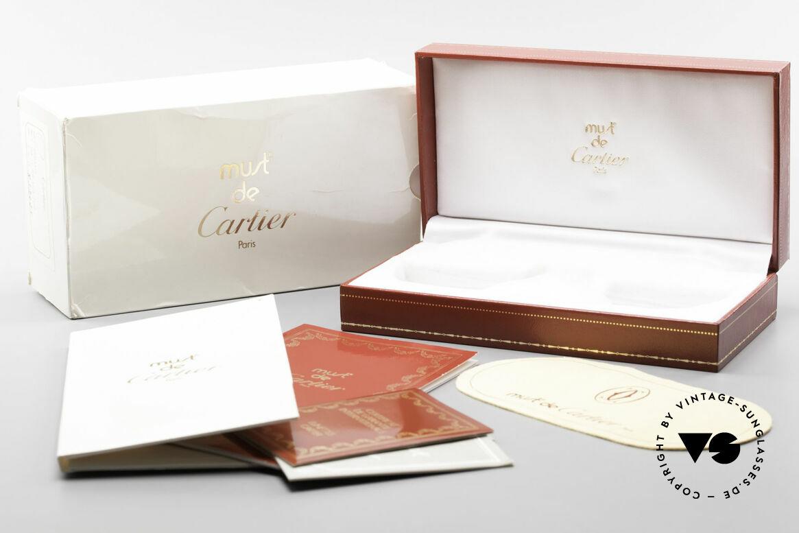Cartier Vendome Santos - L 80's Luxury Aviator Sunglasses, Size: large, Made for Men
