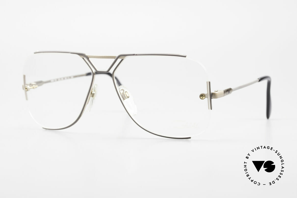 Cazal 722 Extraordinary Vintage Frame, extraordinary Cazal designer glasses from 1984, Made for Men