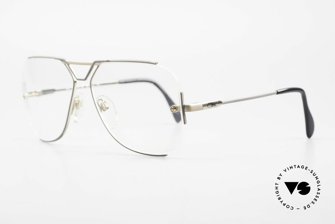 Cazal 722 Extraordinary Vintage Frame, this is really something completely different!, Made for Men