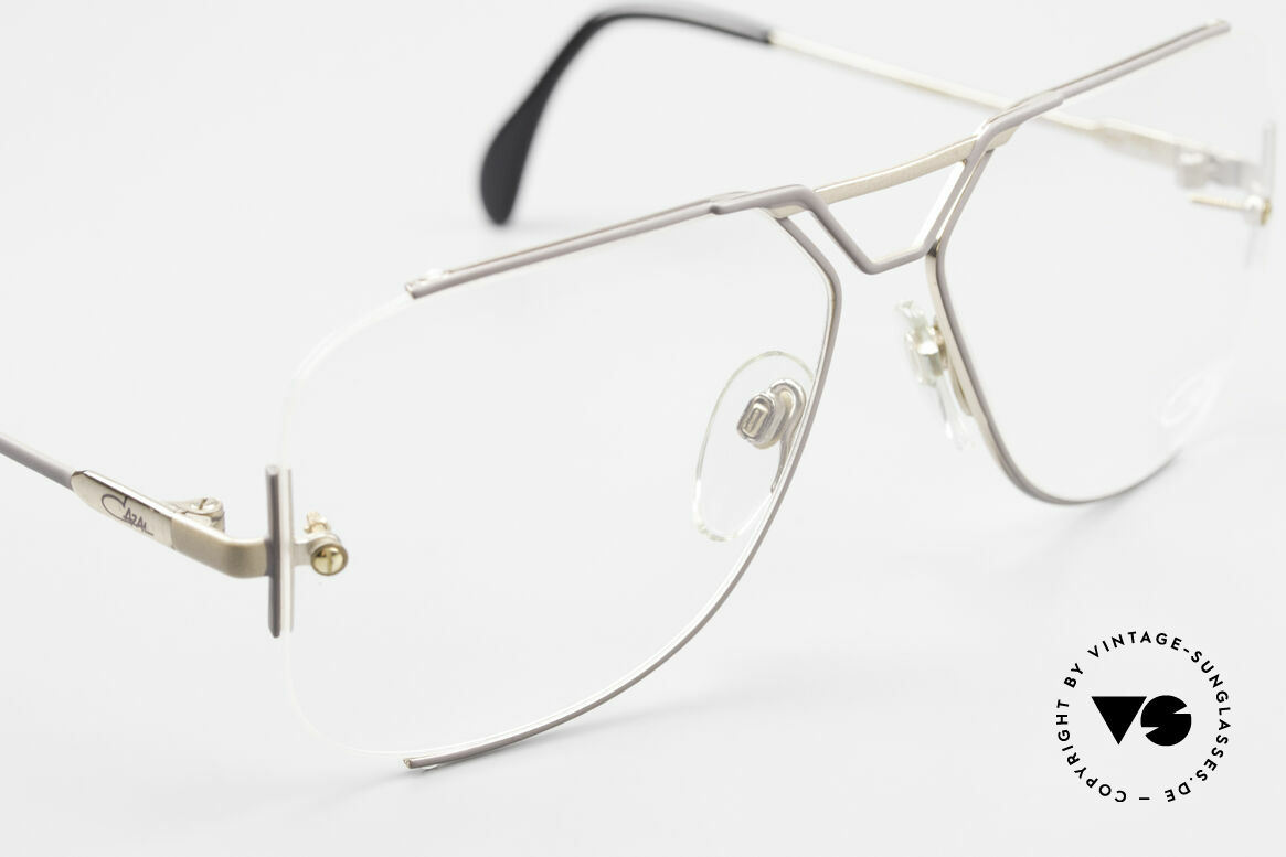 Cazal 722 Extraordinary Vintage Frame, unworn (like all our rare vintage Cazal eyewear), Made for Men