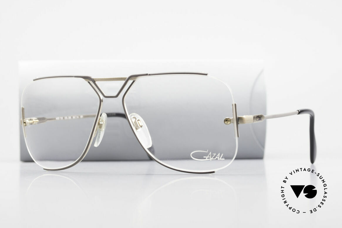 Cazal 722 Extraordinary Vintage Frame, demo lenses should be replaced with prescriptions, Made for Men