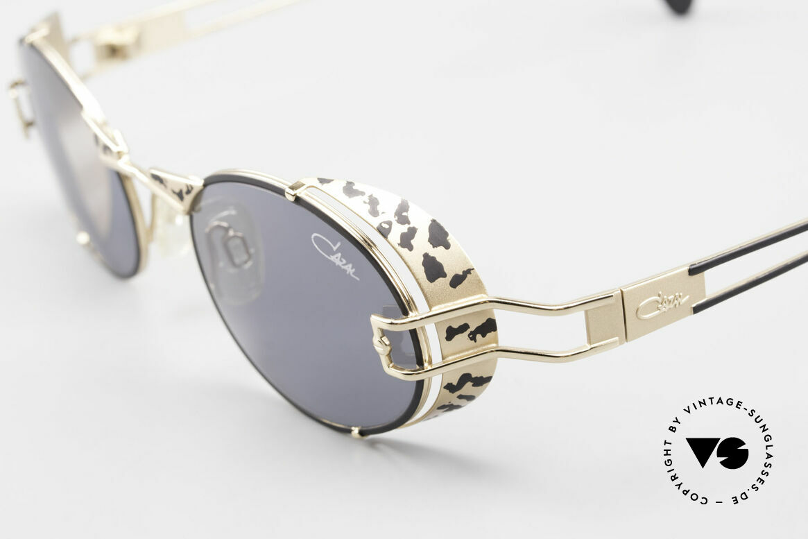 Cazal 991 90's Cazal Steampunk Style, NO retro sunglasses, but an authentic original, Made for Men and Women