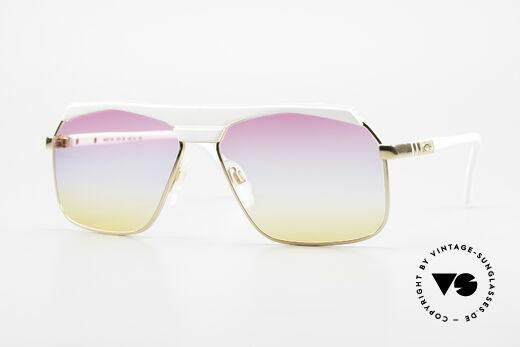 Cazal 730 80's Shades With Sunrise Lenses Details