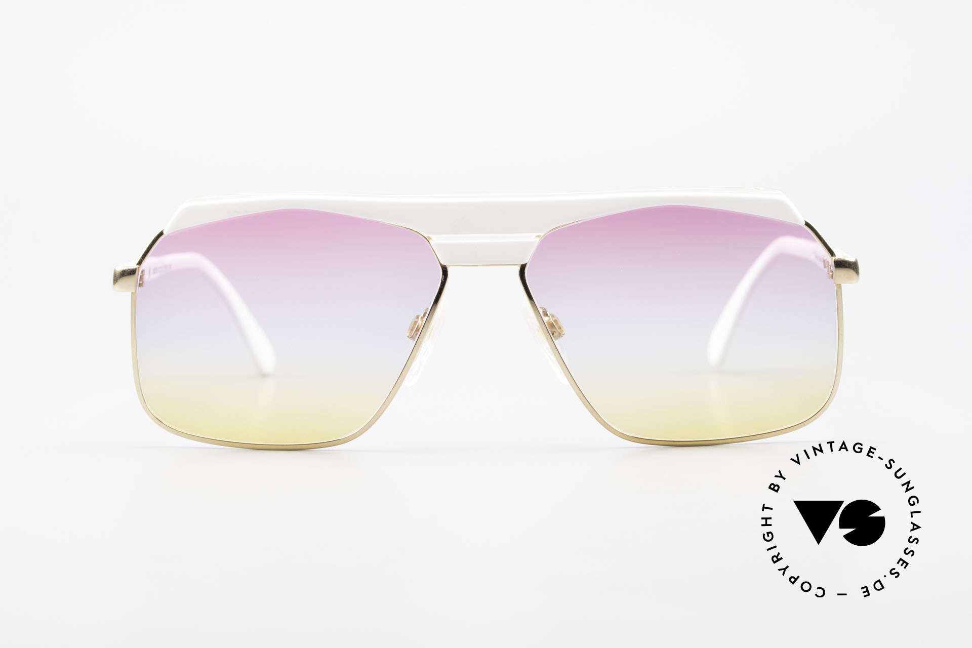 Cazal 730 80's Shades With Sunrise Lenses, unique design by CAri ZALloni - just 'old school', Made for Men and Women