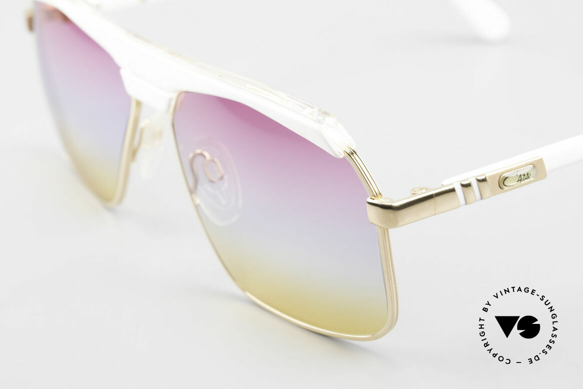"""Cazal 730 80's Shades With Sunrise Lenses, authentic """"W. Germany"""" frame (collector's item), Made for Men and Women"""