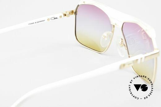 Cazal 730 80's Shades With Sunrise Lenses, NO RETRO SUNGLASSES, but a 30 years old rarity, Made for Men and Women