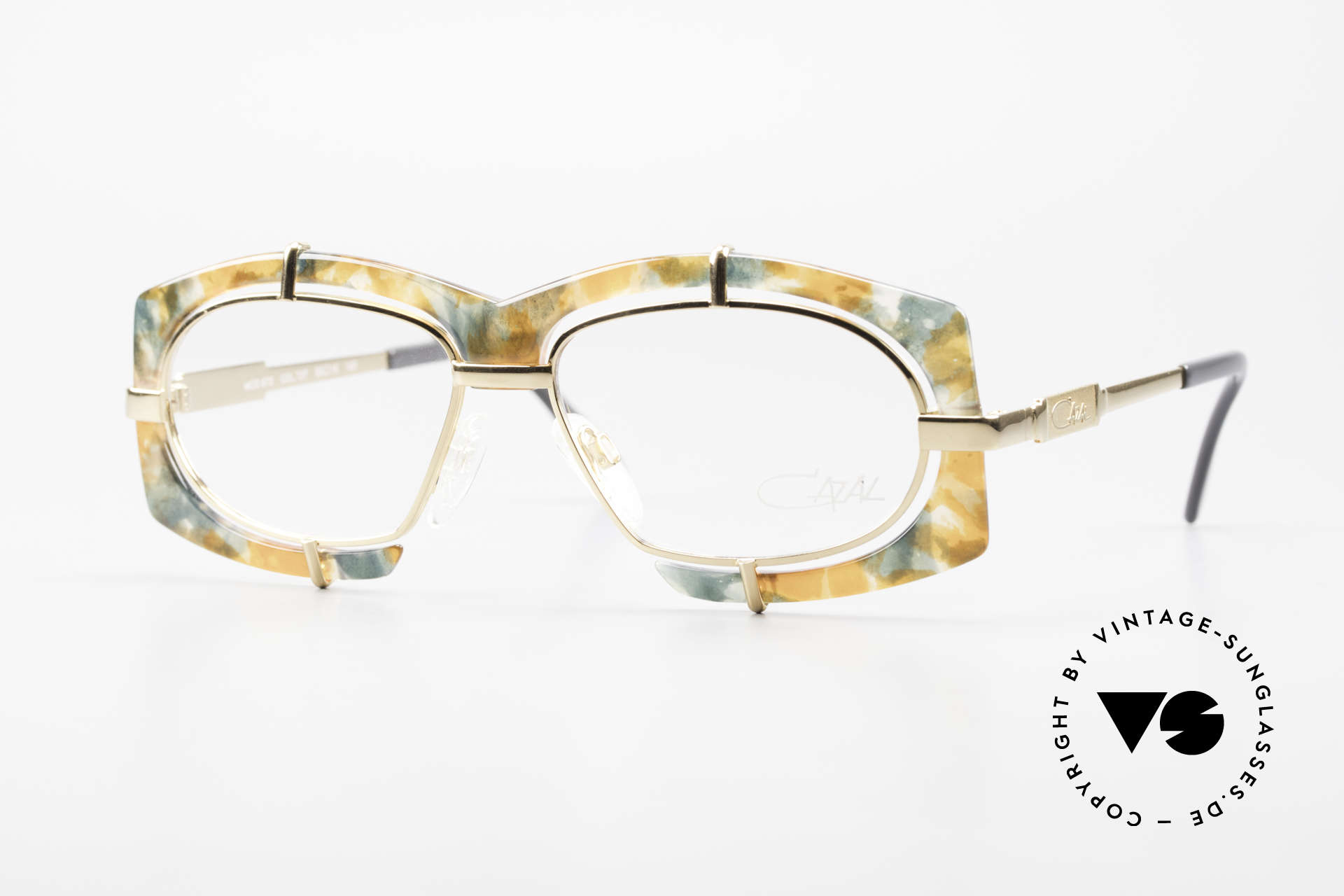 Cazal 872 Extraordinary 90's Eyeglasses, crazy CAZAL designer eyeglasses of the early 1990's, Made for Men and Women