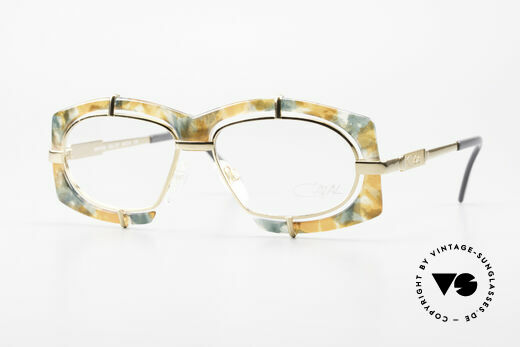 Cazal 872 Extraordinary 90's Eyeglasses Details