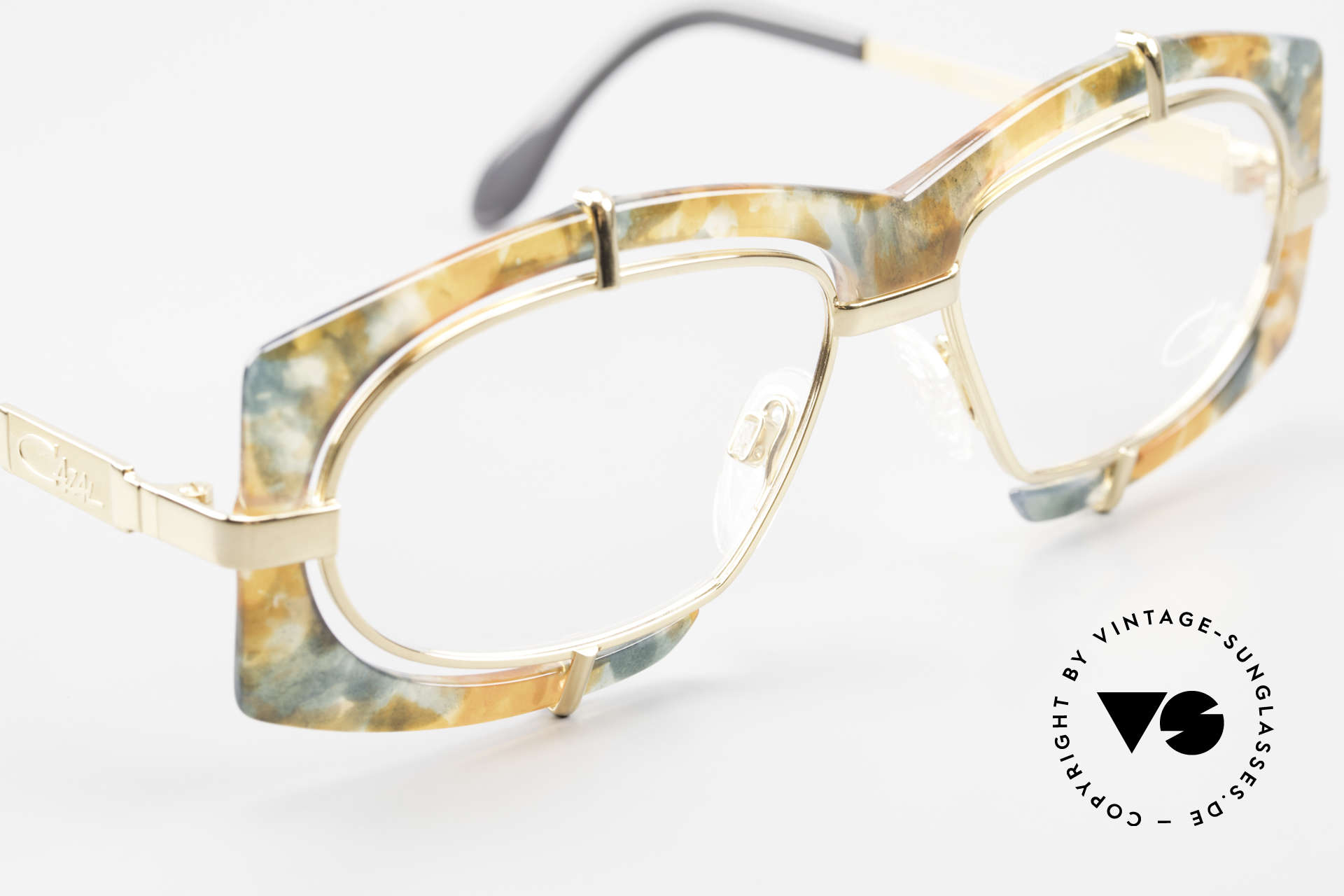 Cazal 872 Extraordinary 90's Eyeglasses, unworn (like all our rare vintage Cazal 90's eyewear), Made for Men and Women