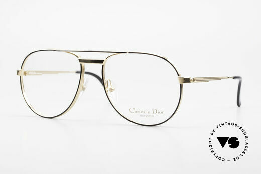 Christian Dior 2448 Gold-Plated Dior Monsieur Frame Details