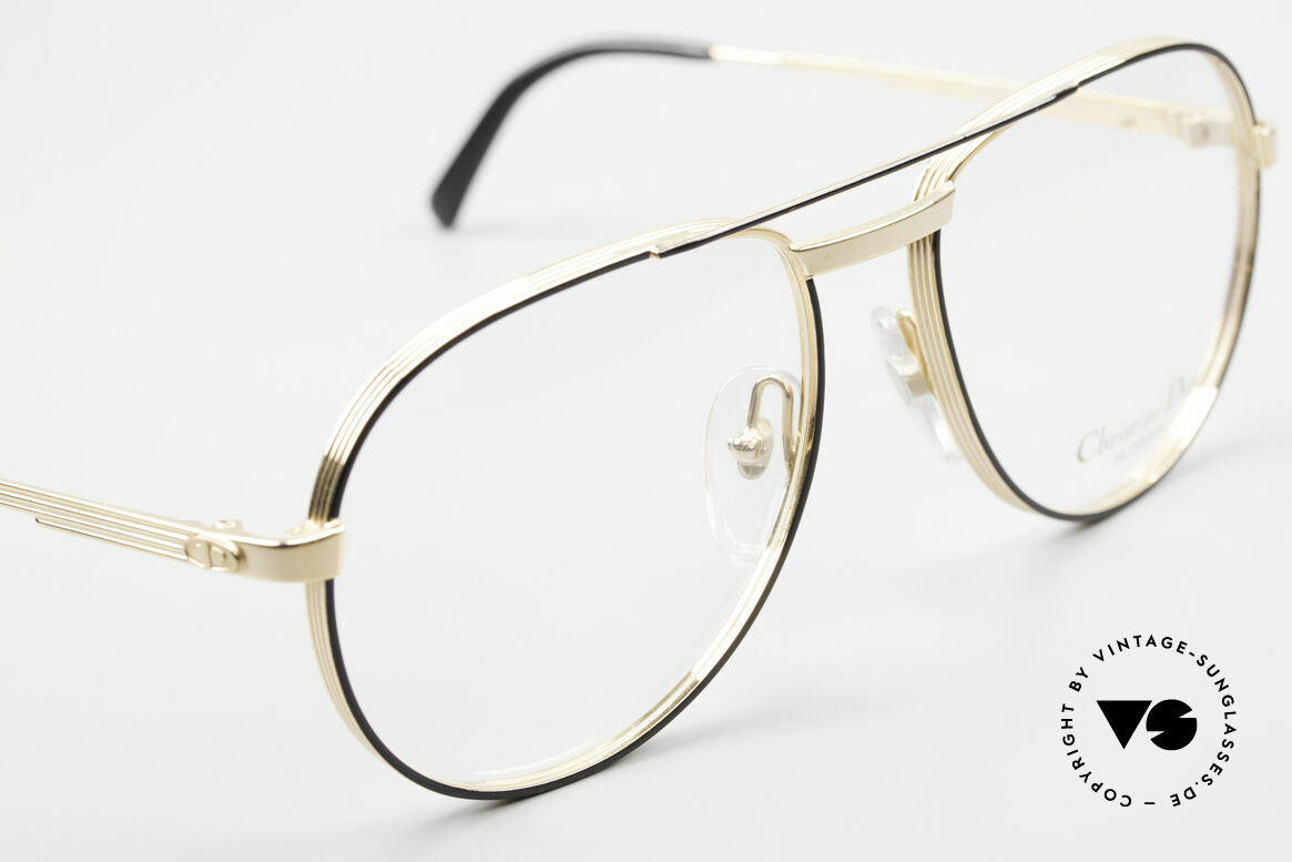 Christian Dior 2448 Gold-Plated Dior Monsieur Frame, new old stock (like all our rare luxury C. Dior eyewear), Made for Men