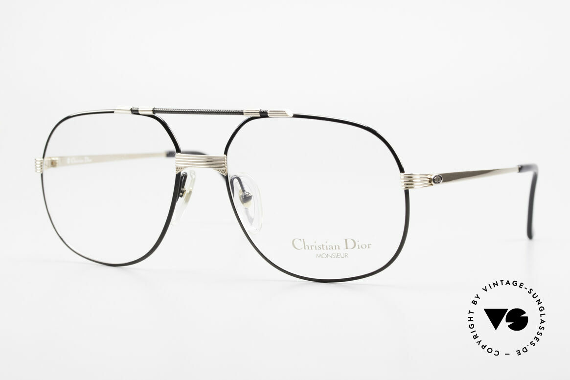 "Christian Dior 2487 Gold-Plated 80's Dior Monsieur, noble frame of the ""Monsieur""-series by Christian Dior, Made for Men"