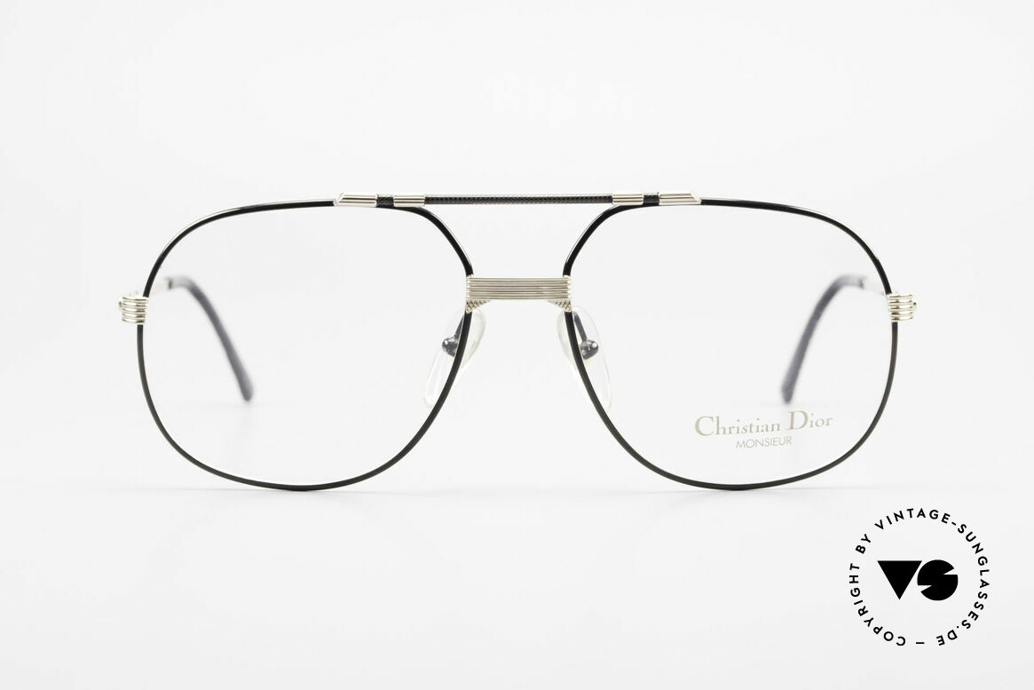 Christian Dior 2487 Gold-Plated 80's Dior Monsieur, precious designer eyeglasses from 1989; true vintage!, Made for Men
