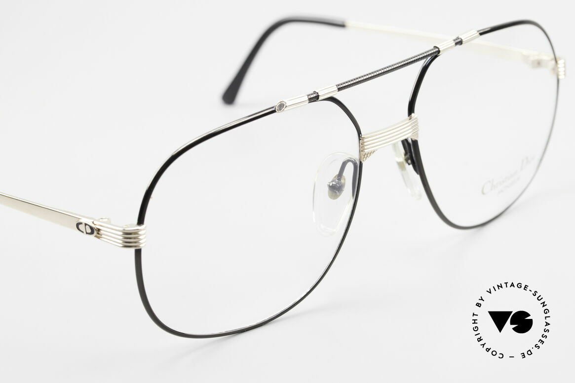 Christian Dior 2487 Gold-Plated 80's Dior Monsieur, new old stock (like all our rare luxury C. Dior eyewear), Made for Men