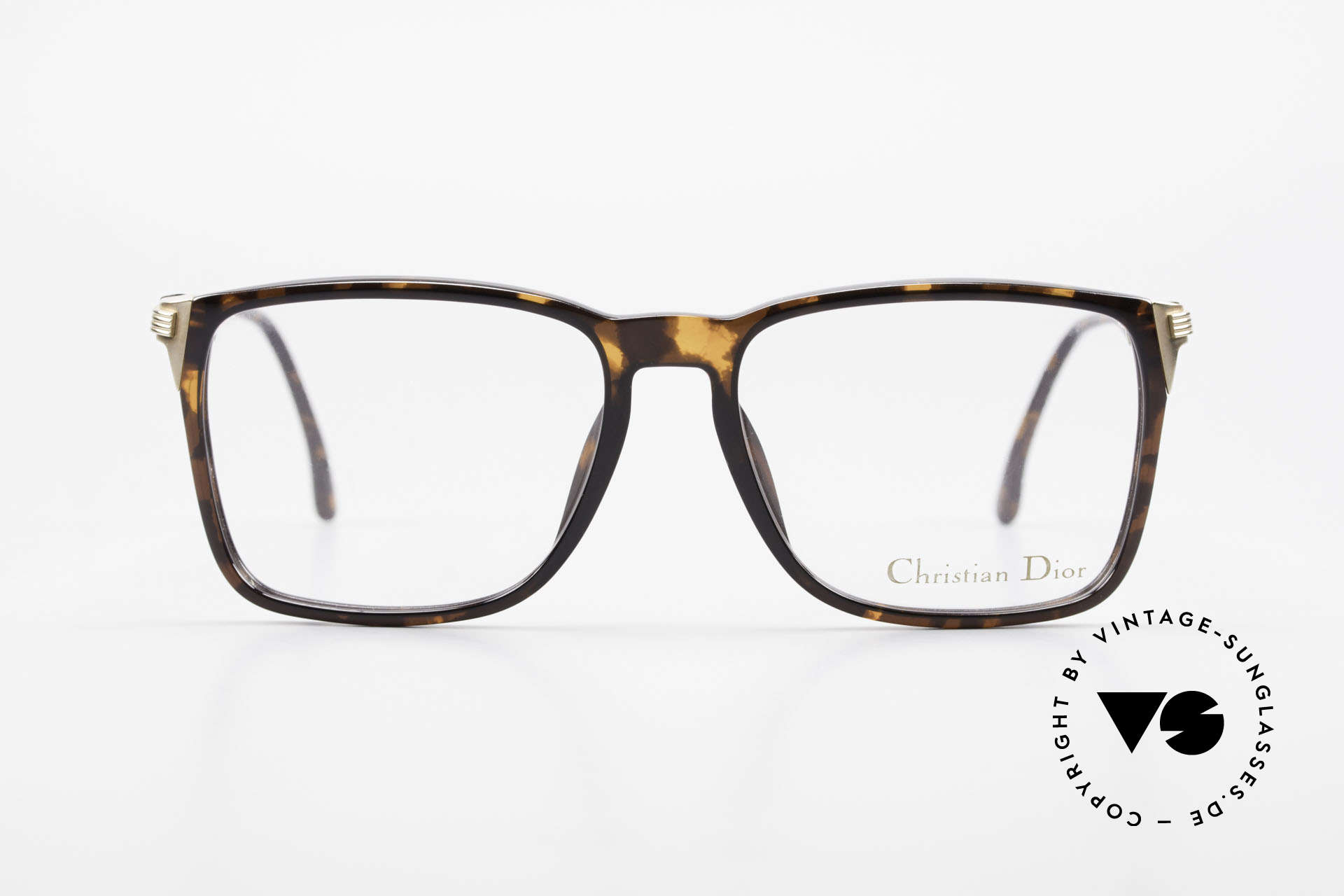 Christian Dior 2483 Old 80's Optyl Eyglass-Frame, elegant gentlemen's model in large size 59-17, 140, Made for Men