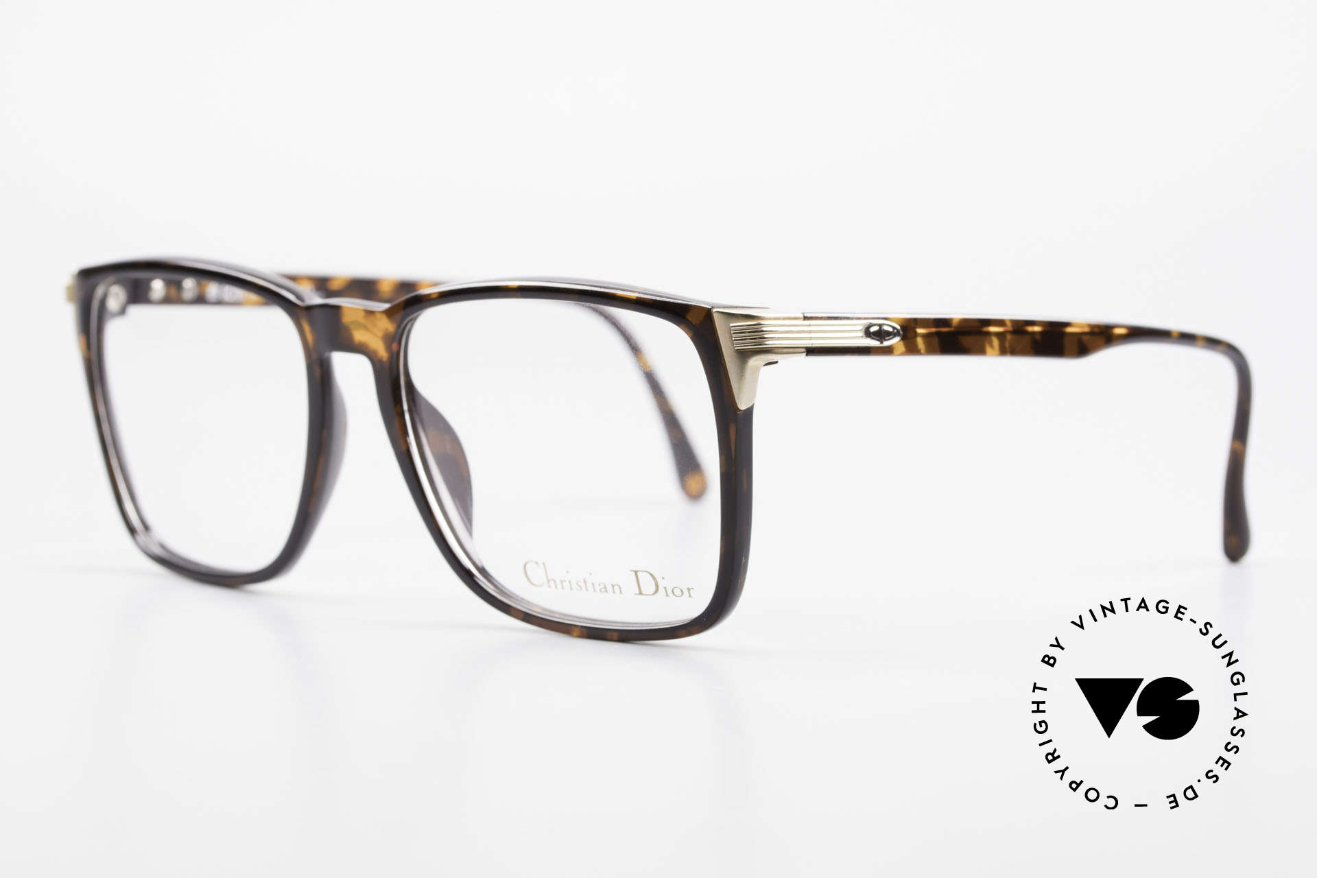 Christian Dior 2483 Old 80's Optyl Eyglass-Frame, highest comfort thanks to brilliant OPTYL material, Made for Men