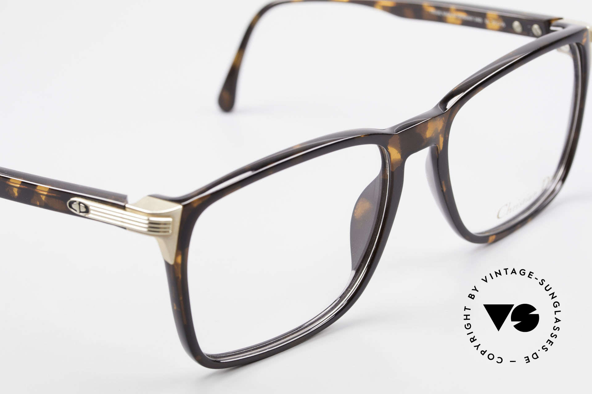Christian Dior 2483 Old 80's Optyl Eyglass-Frame, unworn, 30 years old frame shines as just produced, Made for Men