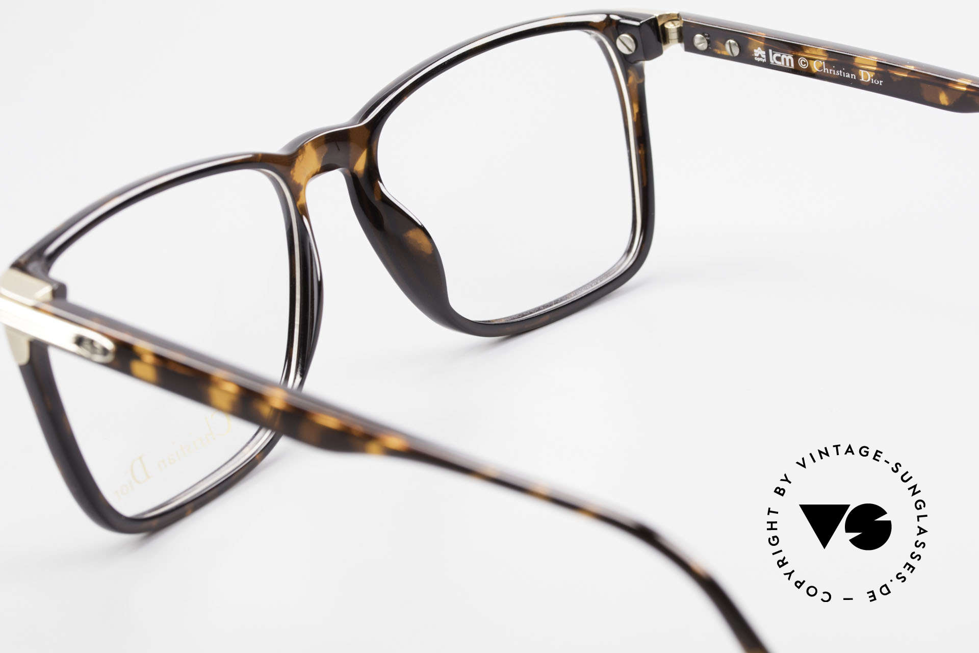 Christian Dior 2483 Old 80's Optyl Eyglass-Frame, the demo lenses can be replaced with prescriptions, Made for Men