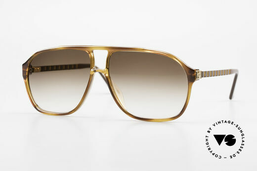 Christian Dior 2417 80's Men's Shades Monsieur Details