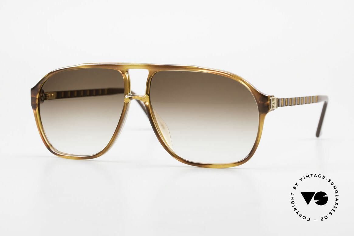 Christian Dior 2417 80's Men's Shades Monsieur, masculine cool design by Christian Dior from 1988, Made for Men