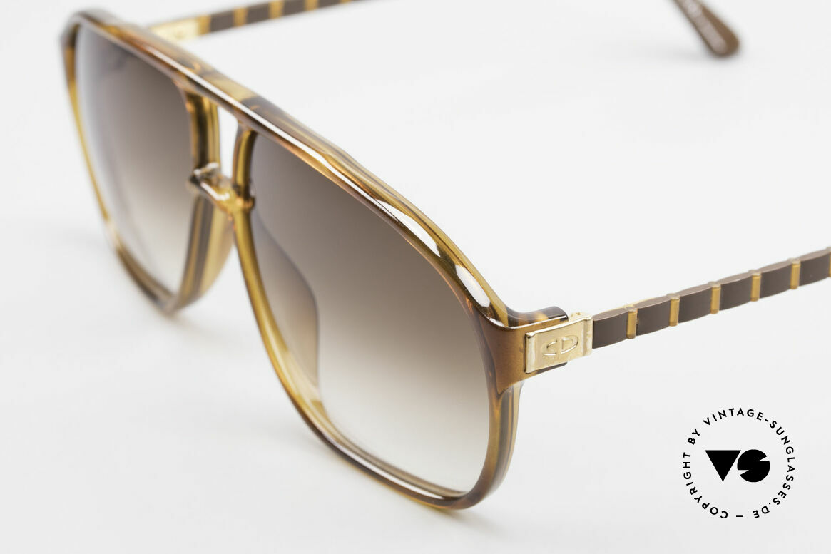 Christian Dior 2417 80's Men's Shades Monsieur, highest comfort thanks to flexible -Flexidée- temples, Made for Men