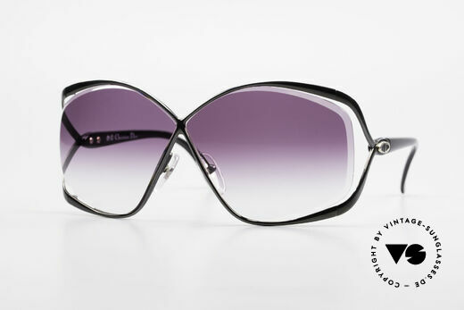 Christian Dior 2056 80's Butterfly Sunglasses Details