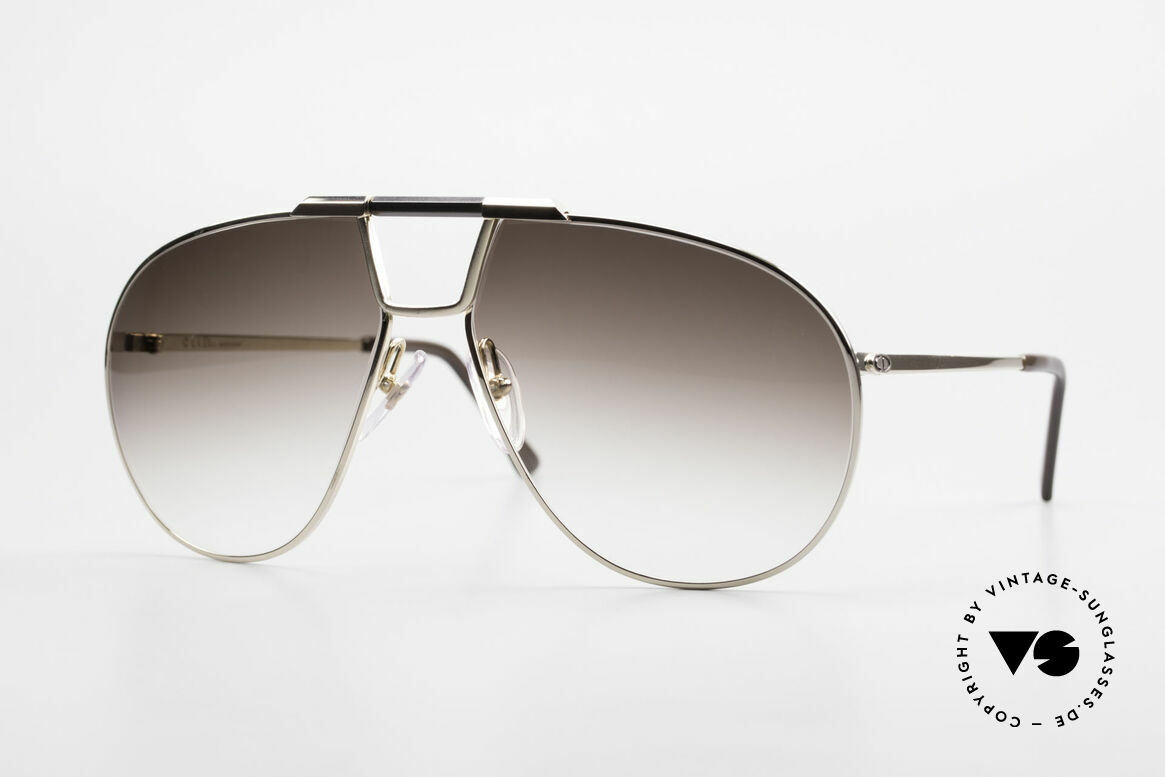 Christian Dior 2151 Monsieur Sunglasses Large, pure elegance by Christian Dior from the 1980's, Made for Men